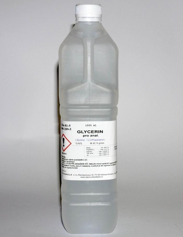 Glycerin bezvodý p.a. 1000ml (Glycerol)