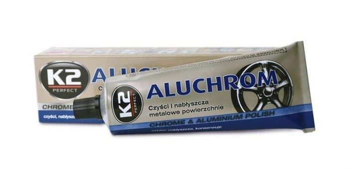 K2 ALUCHROM 120g - pasta na čištění a leštění kovových povrchů
