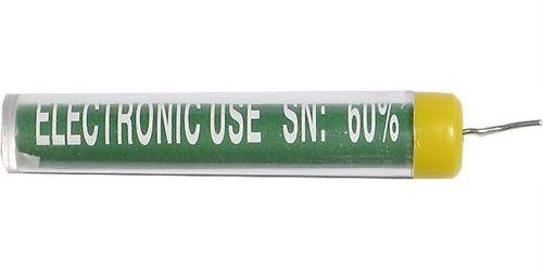 Pájka trubičková 1,2mm 16g 60%Sn 40%Pb+tavidlo