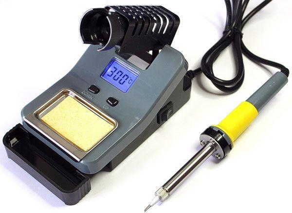 Pájecí stanice ZD-8906L 230V/48W 160-520°C
