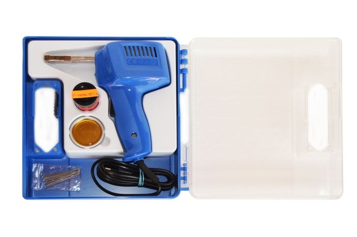 Trafopájka ETP5  LED125VA/230V s upínačem, kufřík