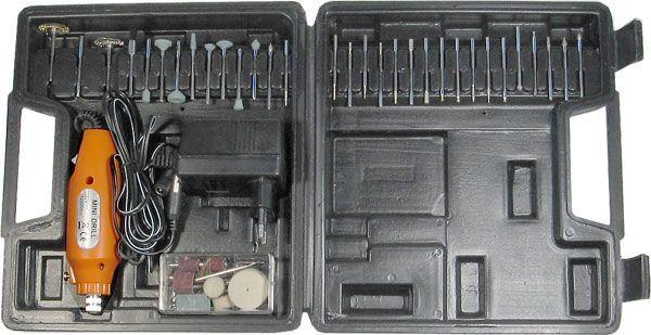 Minivrtačka KMD02-60 12V 12000 otáček s velkým příslušenstvím