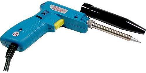 Páječka pistolová 230V/20-130W ZD-81NA, použitá, vadná
