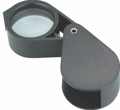 Lupa 50mm skleněná kapesní, zvětšení 10x