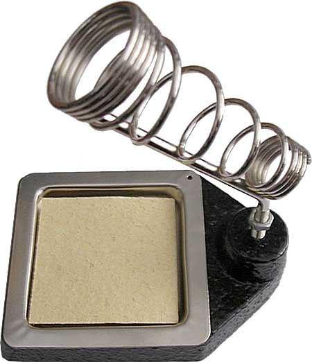 Stojánek pro mikropájku s litinovým podstavcem