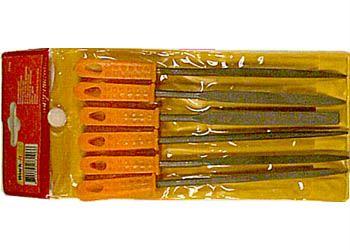 Sada 6 jehlových pilníků