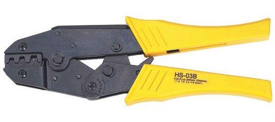 Kleště lisovací HS-03B na neizolované fastony