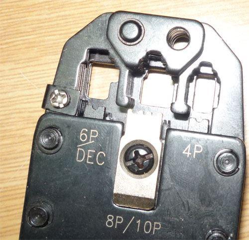Kleště lisovací HT-200R, chybí čep a segerovka