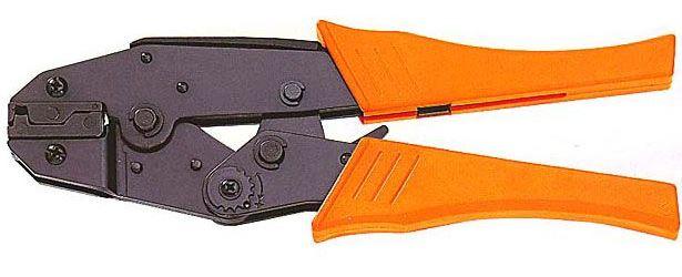 Kleště HS-06FL na neizolované úhlové fastony 6,3mm