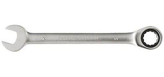 Očkoplochý klíč ráčnový č.14, GMP