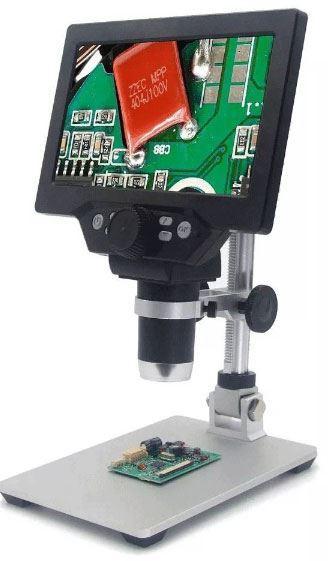 Mikroskop s monitorem G1200, zvětšení 4-120x