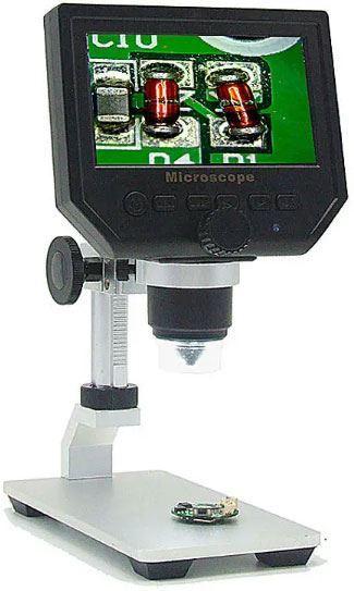Mikroskop s monitorem G600, zvětšení 0-600x