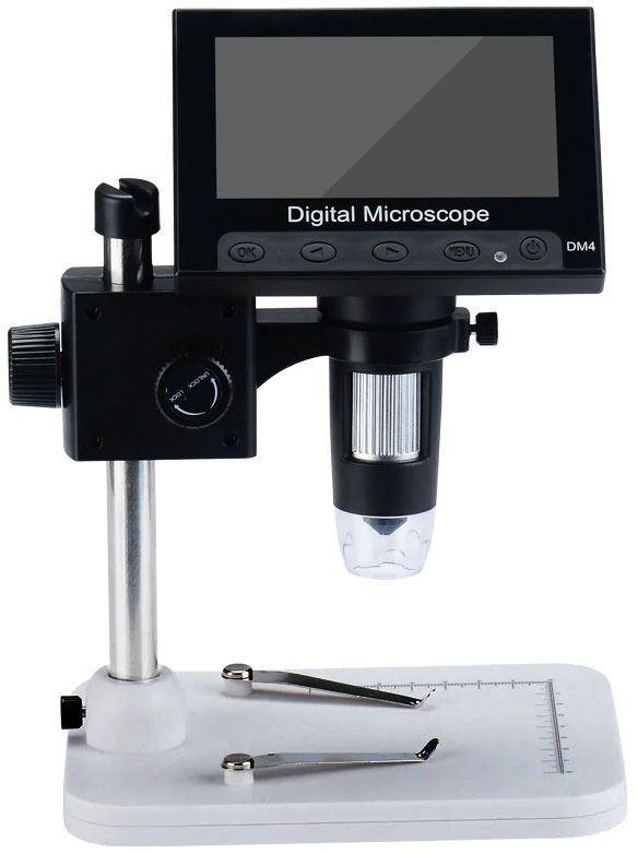Mikroskop s monitorem DM4, zvětšení 0-1000x