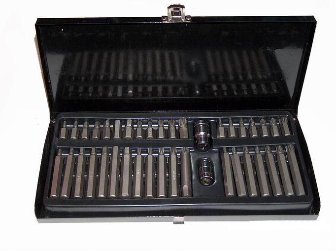 Torxové a imbusové klíče 40ks, TORX, IMBUS, XZN -  MAR-POL