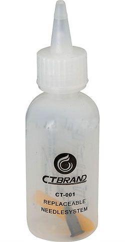 Lahvička na chemikálie s jehlou, 60ml