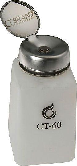 Lahvička na chemikálie 190ml s pumpičkou a kalíškem