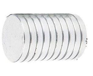Neodymový magnet N35 20x3mm, balení 10ks