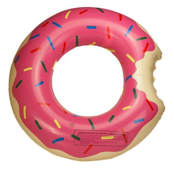 Nafukovací kruh Donut pro děti, 50cm