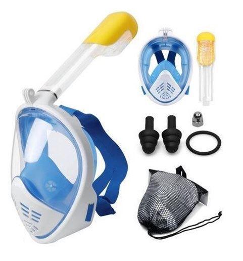 Maska na šnorchlování vel. L/XL, modrá