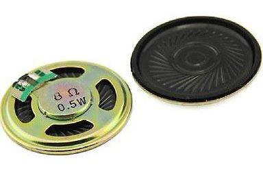 Repro 36x5mm 8ohm/0,5W, plastová membrána