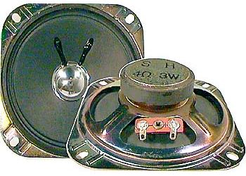 Repro YD103-1, 4ohm/3W, feritový magnet