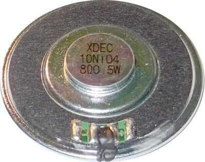 Repro 50mm YD50M mylar, 8ohm/0,5W, magnet NdFeB