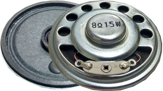 Repro 50mm YD50, papír, 8ohm/1,5W, magnet NdFeB