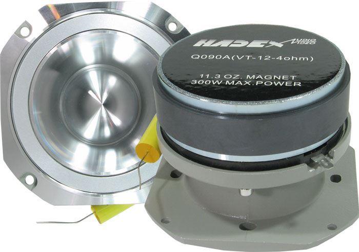 Repro výškový 100x100mm 4ohm/150WRMS