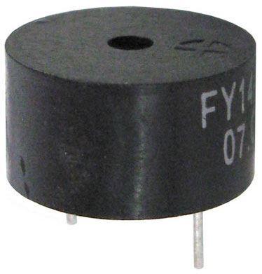 Piezobzučák 13,8mm, FY-14, napájení 3-18V/7mA