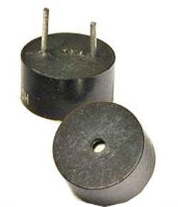 Piezobzučák HCM1005, 10mm,napájení 4-7V/25mA