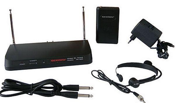 Bezdrátový mikrofon WR-108DR + VT-22P + HM-12