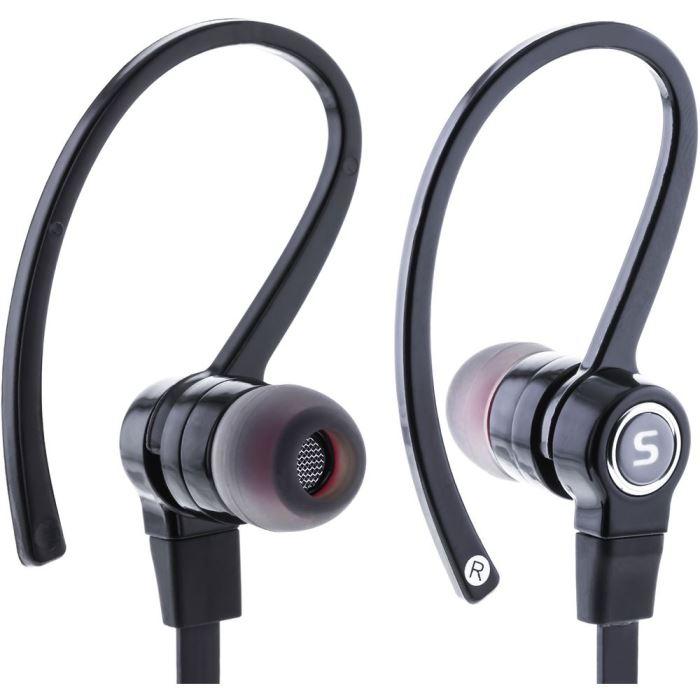 Sportovní stereo sluchátka SEP 189 BLACK MIC SPORT N TALK SENCOR