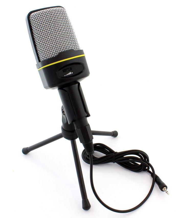 Mikrofon dynamický AK s vypínačem