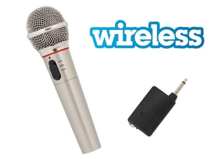 Mikrofon dynamický, bezdrátový, 600ohm jack 6,3mm