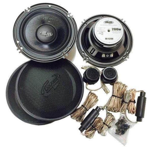 Autorepro 165x65mm 4ohm/150W Megavox MGX-600-2S
