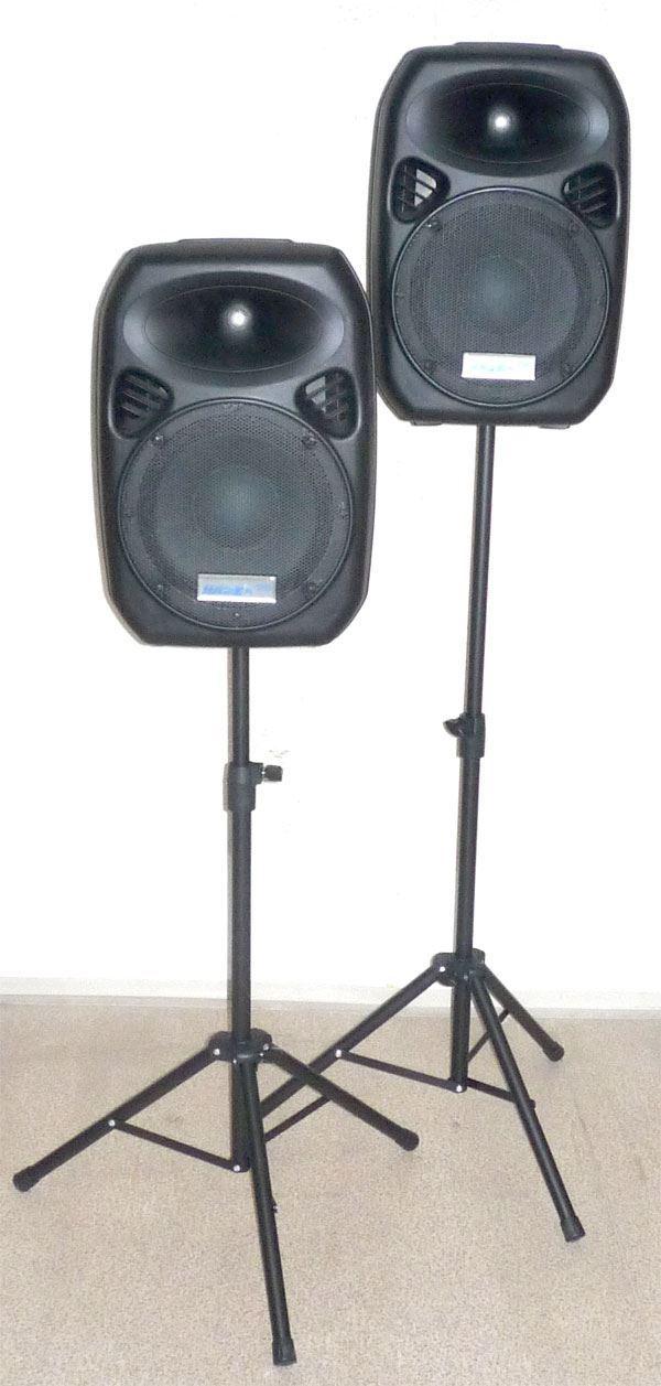 Přenosné DJ ozvučení 2x50W JPS310ST