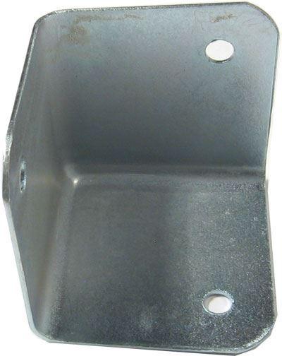 Kovový roh na reprobox 40x40x40mm niklovaný