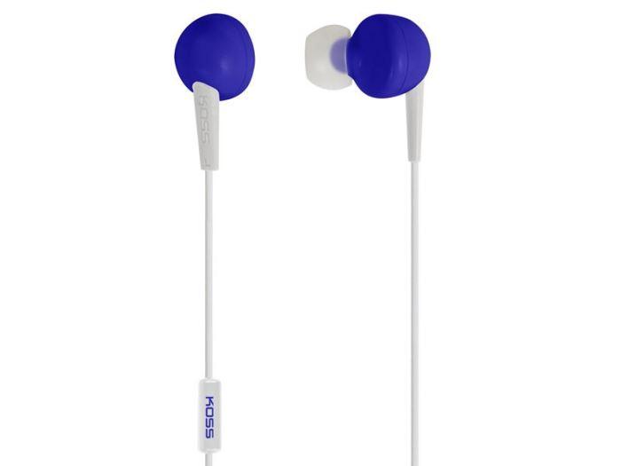 Sluchátka KOSS KEB/6i modrá (Blue)