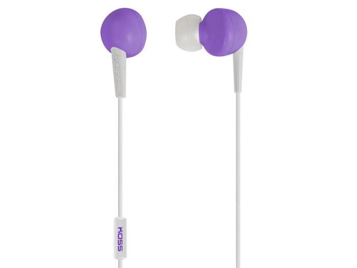 Sluchátka KOSS KEB/6i fialová (Violet)
