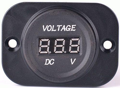 Voltmetr panelový DS4010, rozsah 8-30V