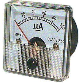 JY-45 panelový MP 100uA= 45x45mm