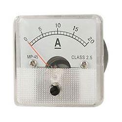 JY-45 panelový MP 20A= (50mV), 45x45mm, bez bočníku