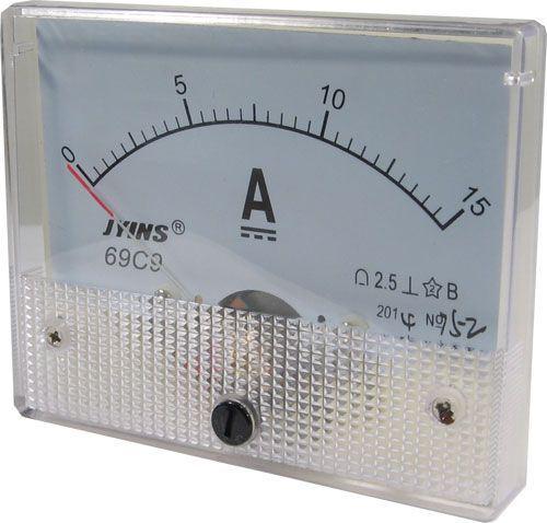 69C9 panelový MP 15A= 80x65mm, včetně bočníku