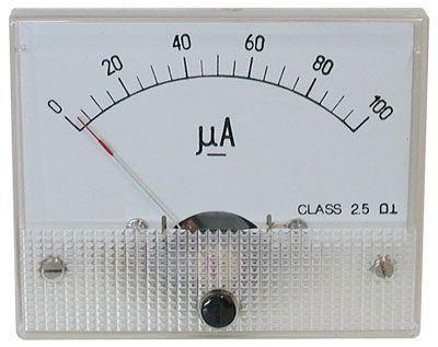 69C9 panelový MP 100uA 80x65mm