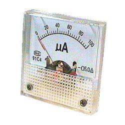 91C4 panelový MP 100uA= 45x45mm