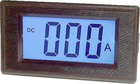 JYX85-panelový LCD MP 100A= 70x40x25mm,napájení 6-12V=