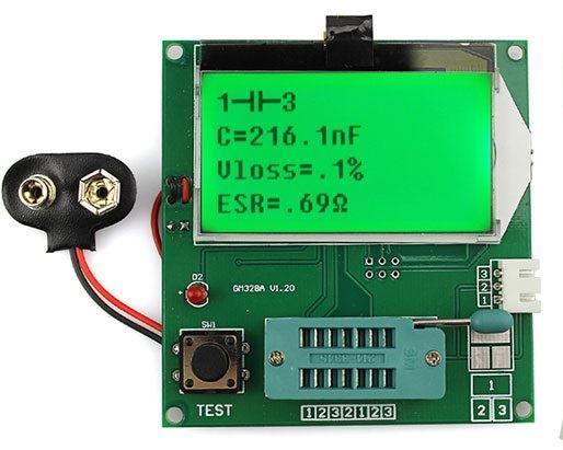 Univerzální tester součástek GM328A