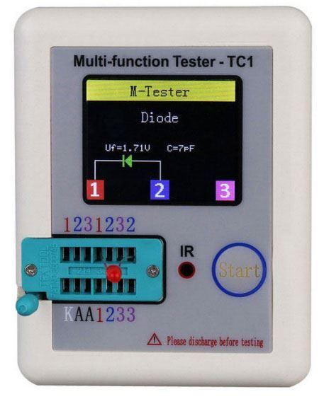 Univerzální tester součástek LCR-T1