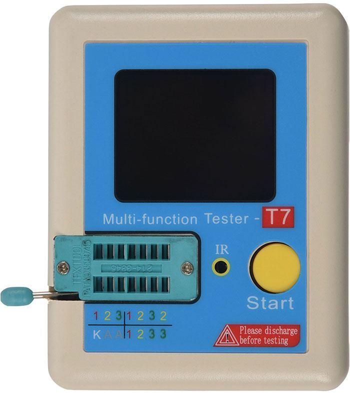 Univerzální tester součástek LCR-T7