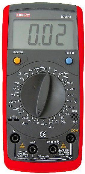 Multimetr UT39C UNI-T